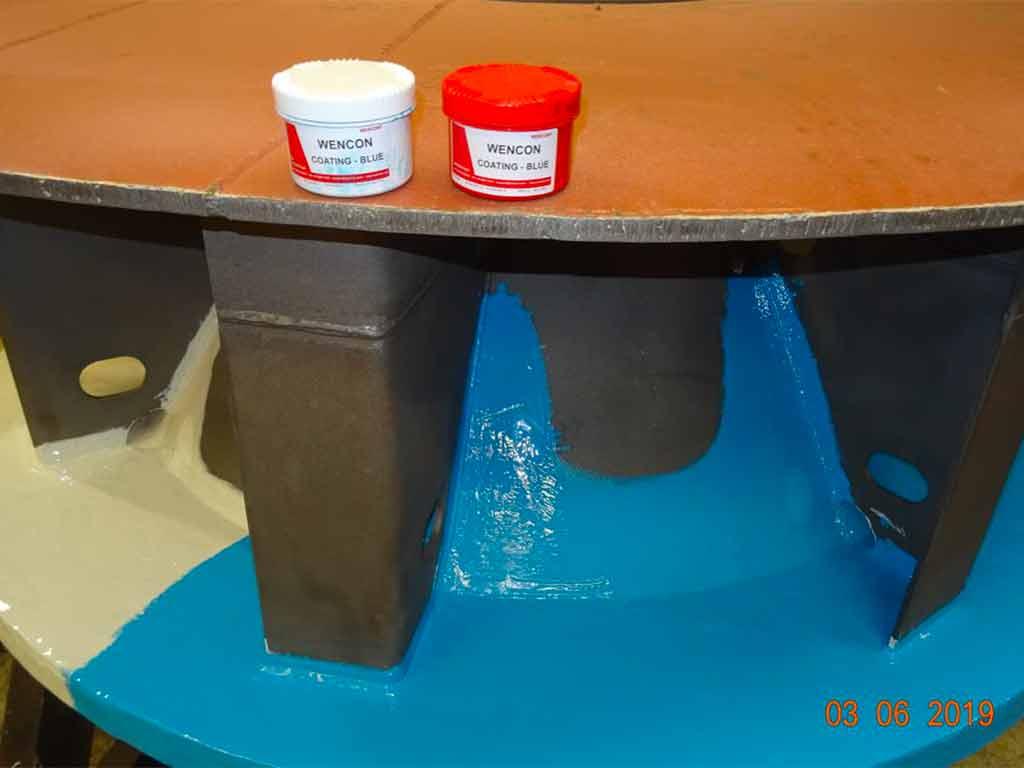 Epoxy coating protection against Erosion
