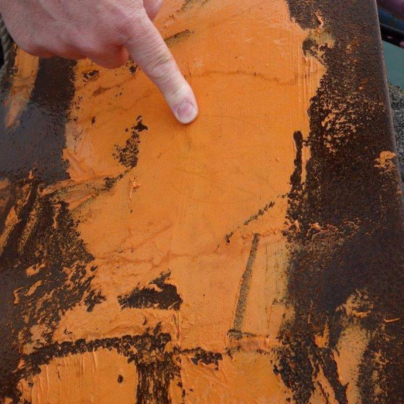 Testing UW coating